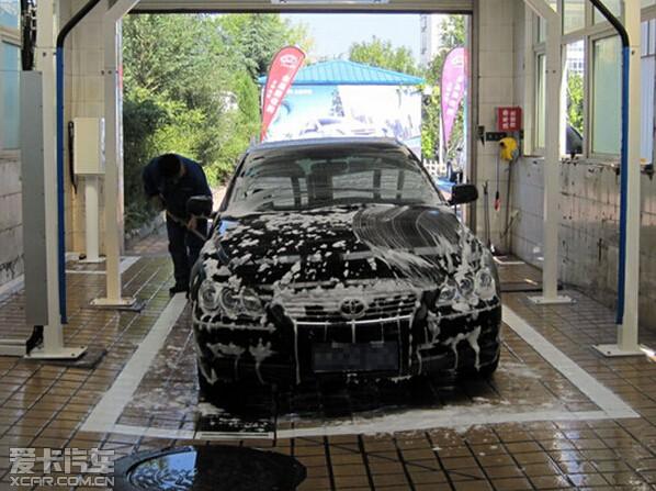 过度洗车易伤车