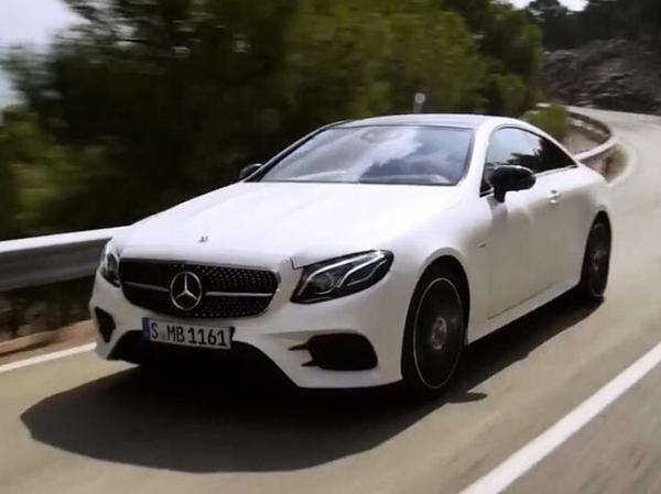 家族新世代轿跑风格传承 全新奔驰E-Class Coup