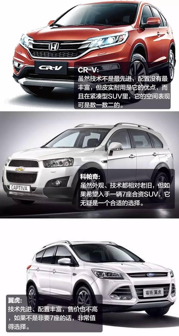 17万起!这三款优惠大、空间大的合资SUV怎么选?