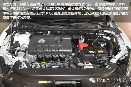 内外提升 详解2016款东风日产轩逸