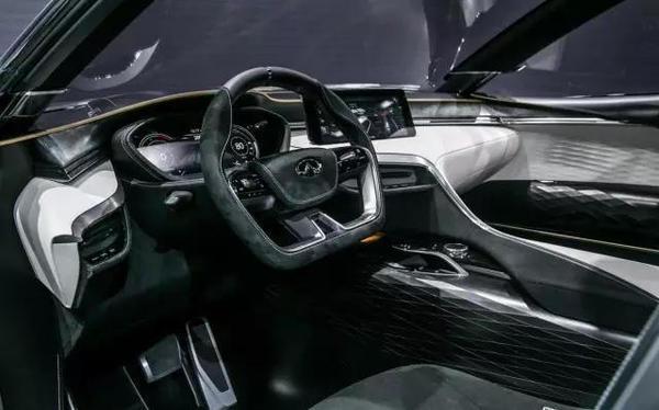 未来QX系列车型雏形,英菲尼迪概念车亮相