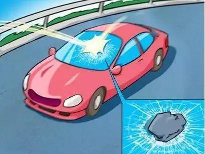 汽车玻璃破损 换掉还是修补如何判定?