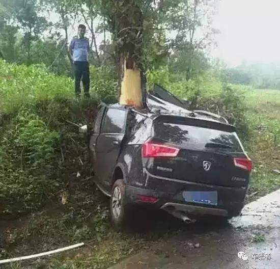为啥宁撞墙勿撞树?让美国道路安全保险协会告诉你