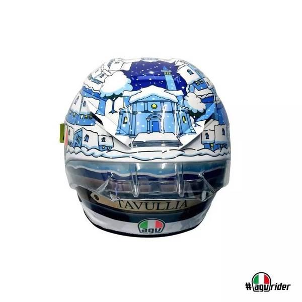 AGV推出新款罗西冬测头盔,浓浓家乡情